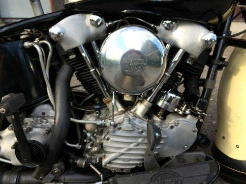 Harley Davidson FL 1200 Type 74 Knucklehead For Sale Specifications, Price and Images