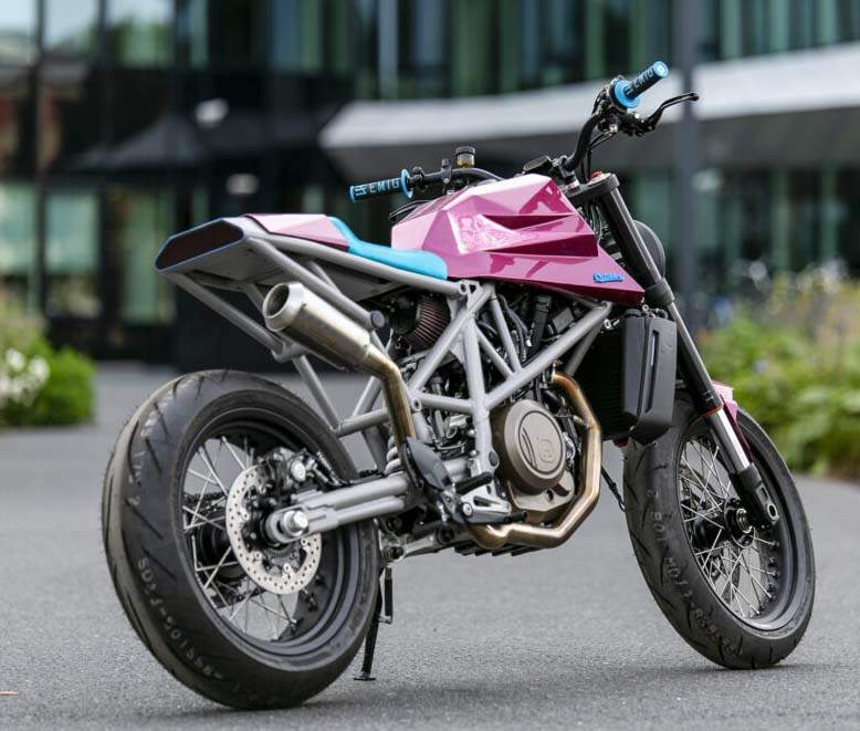 Husqvarna Vitpilen 701 Custom by Outsiders For Sale Specifications, Price and Images