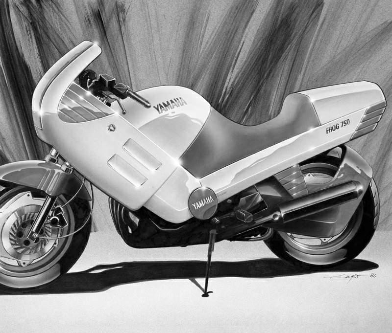 Frog 750 Concept by Hartmut Esslinger
