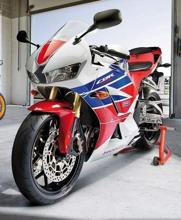 Honda CBR 600RR                  Tricolour-HRC