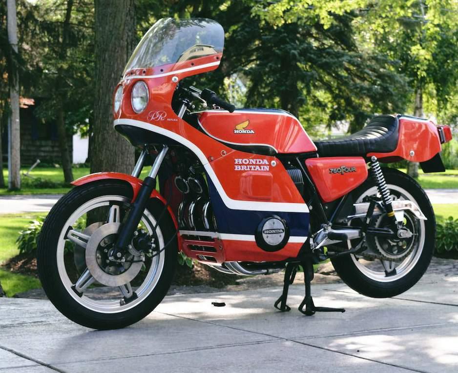 Honda CB750 Seeley Phil Read Factory  Replica