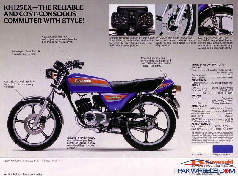 Kawasaki GTO 125 For Sale Specifications, Price and Images