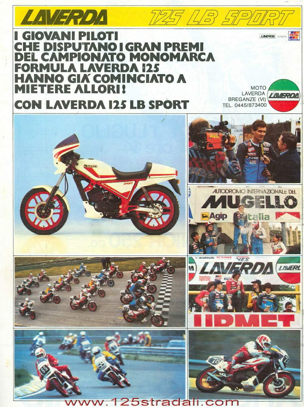 Laverda LB 125 Trofeo For Sale Specifications, Price and Images