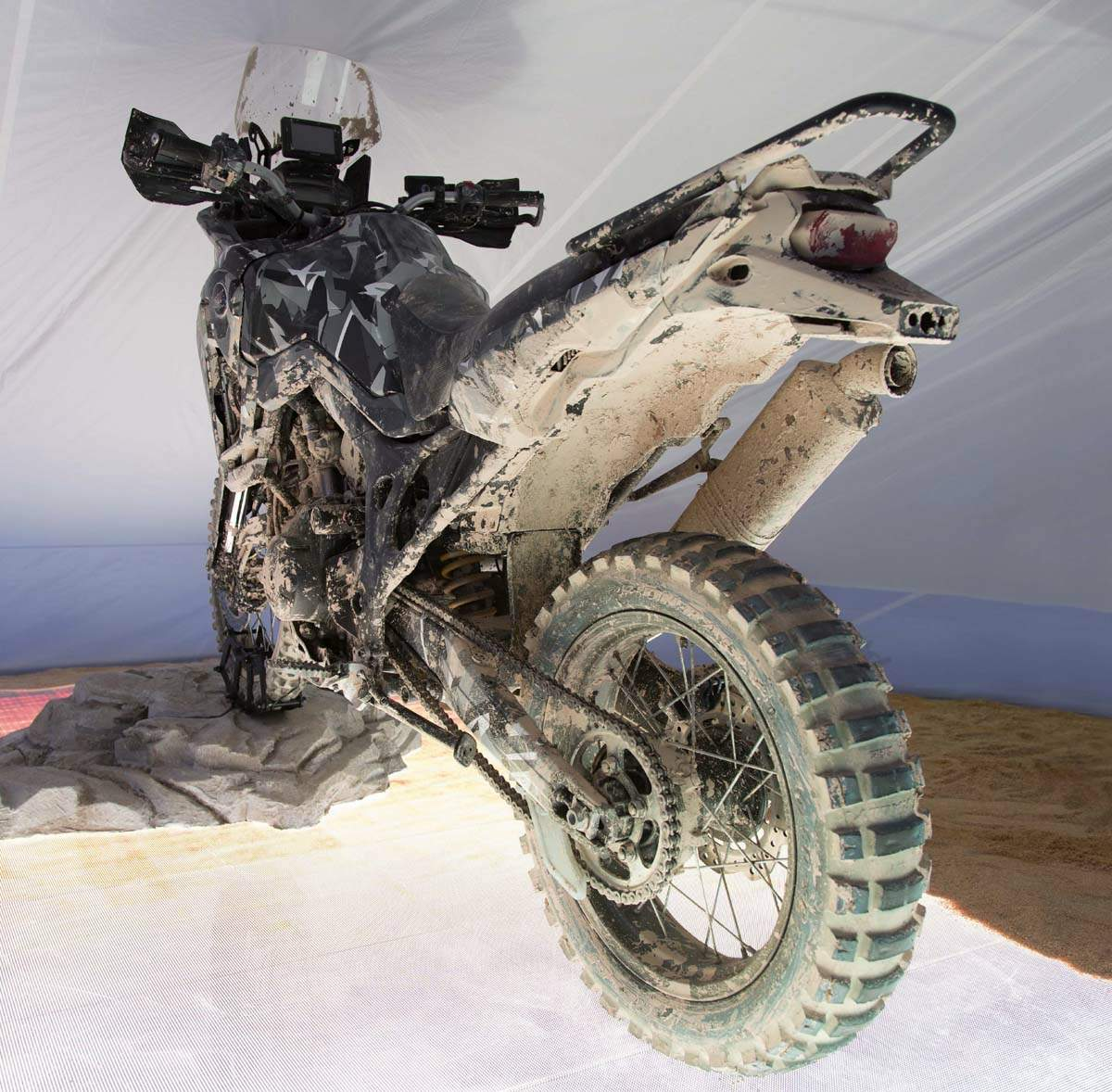 """Honda """"True Adventure"""" Africa Twin  Prototype For Sale Specifications, Price and Images"""