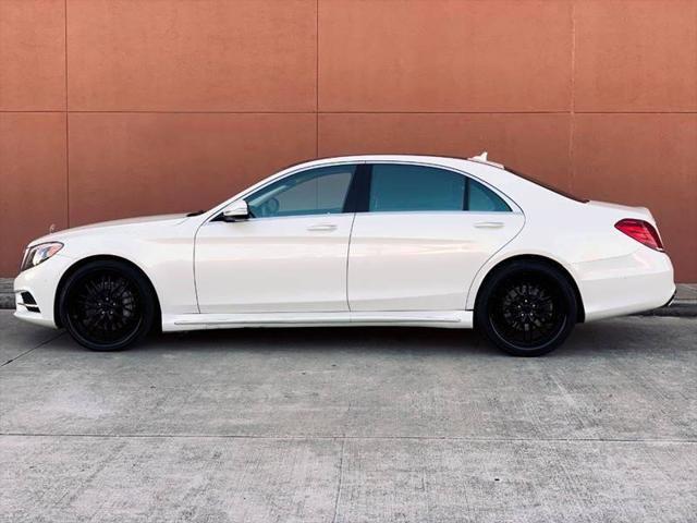 2014 Mercedes-Benz S 550
