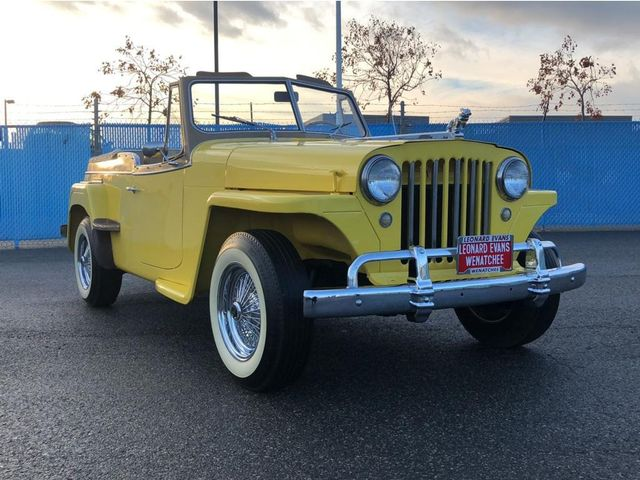 1949 Willys Jeepster For Sale Specifications, Price and Images