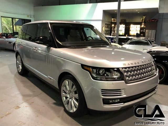 2016 Land Rover Range Rover 5.0 Supercharged LWB