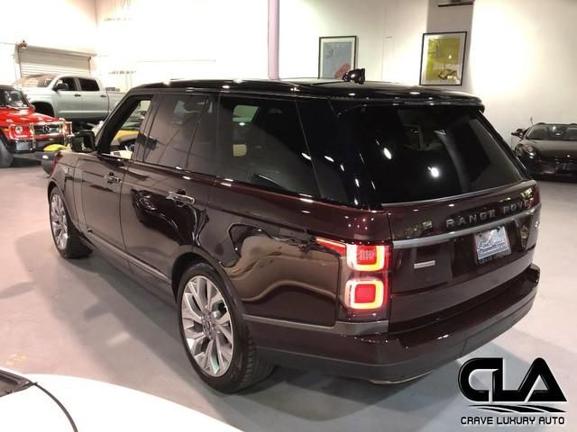 2018 Land Rover Range Rover 5.0L Supercharged Autobiography