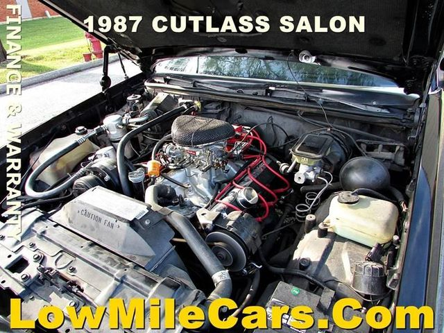 1987 Oldsmobile Cutlass Salon Base For Sale Specifications, Price and Images