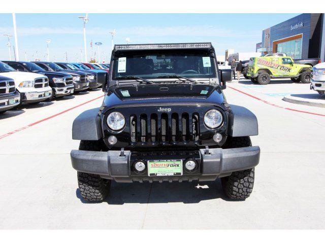Certified 2016 Jeep Wrangler Willys Wheeler