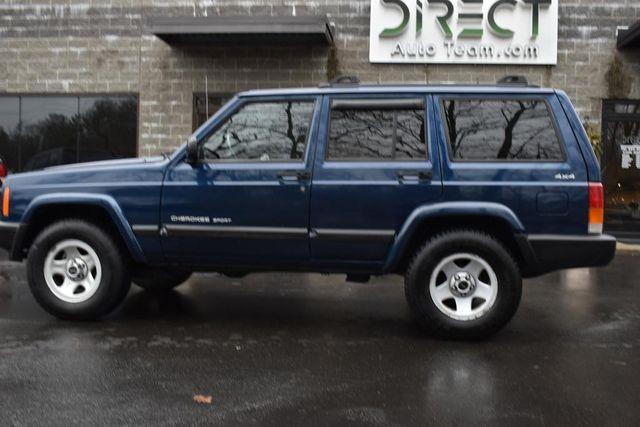 2001 Jeep Cherokee Police