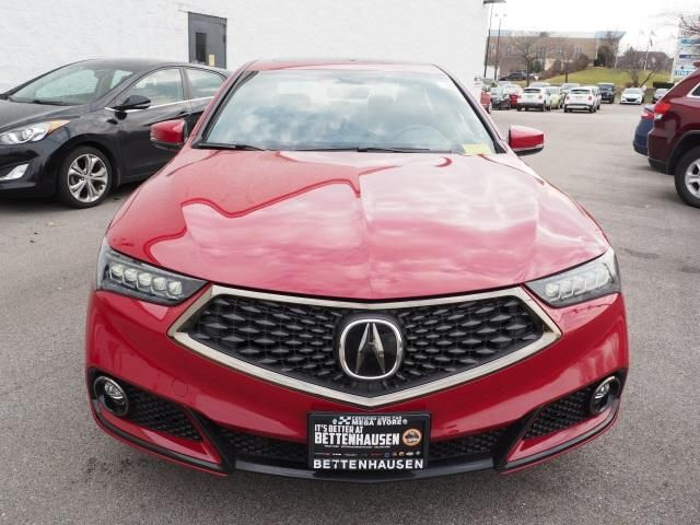2019 Acura TLX Technology & A-Spec