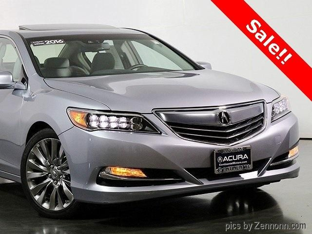 Certified 2016 Acura RLX Technology Package