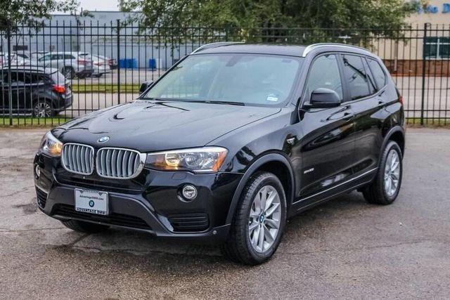 Certified 2017 BMW X3 sDrive28i