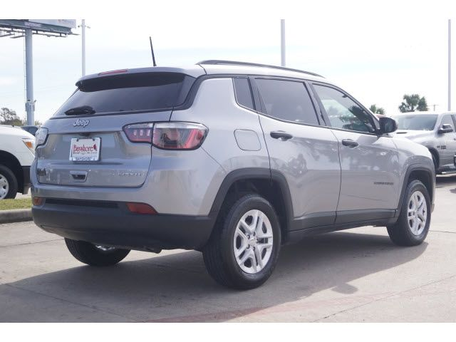 Certified 2018 Jeep Compass Sport
