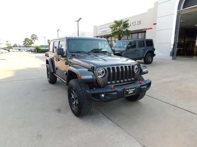 Certified 2018 Jeep Wrangler Unlimited Rubicon