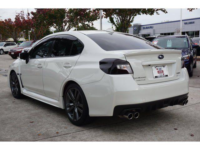 Certified 2017 Subaru WRX Premium