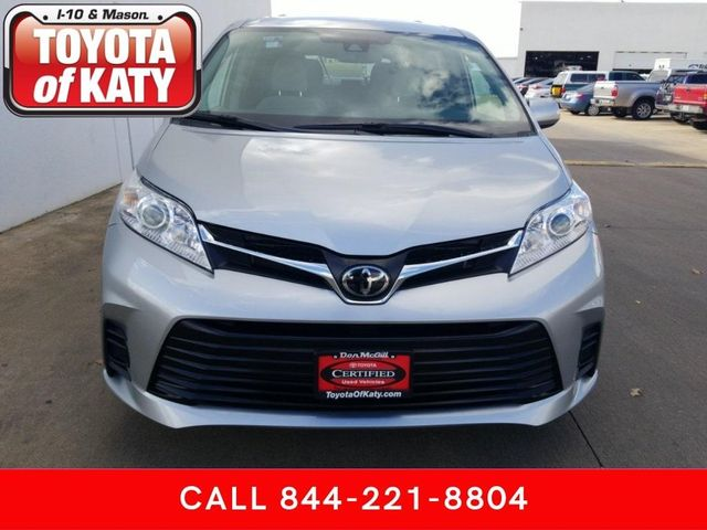 Certified 2020 Toyota Sienna LE