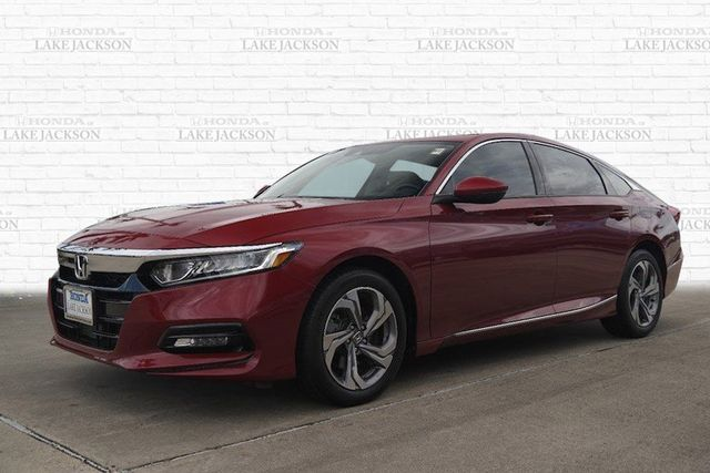 Certified 2018 Honda Accord EX w/Leather