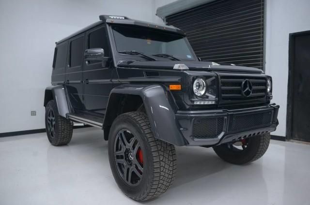 2017 Mercedes-Benz G 550 4x4 Squared Base