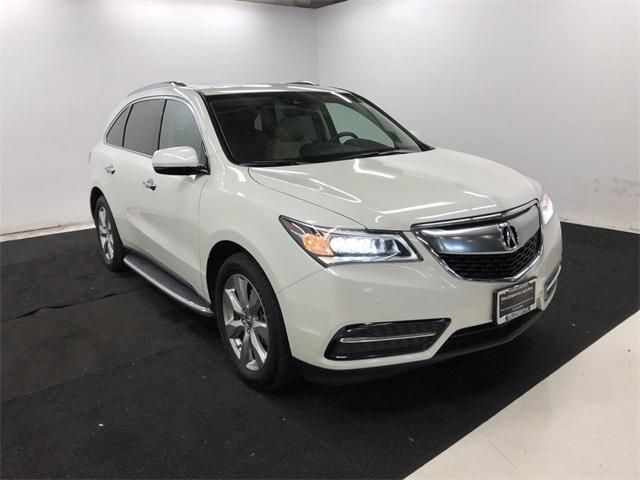 Certified 2016 Acura MDX 3.5L w/Advance Package